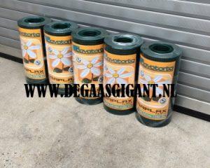 Cavatorta Volieregaas groen geplastificeerd 50 cm hoog kopen? Esaplax gaas. Maaswijdte 12