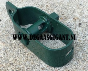 Draadspanner nr 3 groen geplastificeerd 100 mm. | De Gaasgigant draadspanners