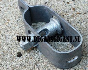 Draadspanner nr 3 verzinkt 100 mm. | De Gaasgigant draadspanners