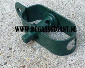 Draadspanner nr 4 groen geplastificeerd 120 mm. | De Gaasgigant draadspanners