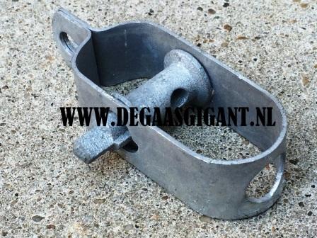 Draadspanner nr 4 verzinkt 120 mm. | De Gaasgigant draadspanners