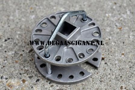 Draadspanner rond aluminium | De Gaasgigant draadspanners