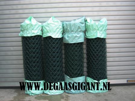 Harmonicagaas groen geplastificeerd 125 cm. | De Gaasgigant harmonicagaas