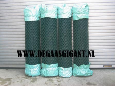 Harmonicagaas groen geplastificeerd 175 cm. | De Gaasgigant harmonicagaas