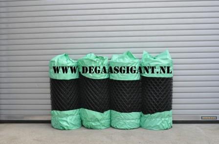 Harmonicagaas zwart geplastificeerd 100 cm. | De Gaasgigant harmonicagaas