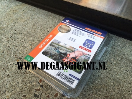 Ringkrammen aluminium 1000 st. | De Gaasgigant afrastering toebehoren