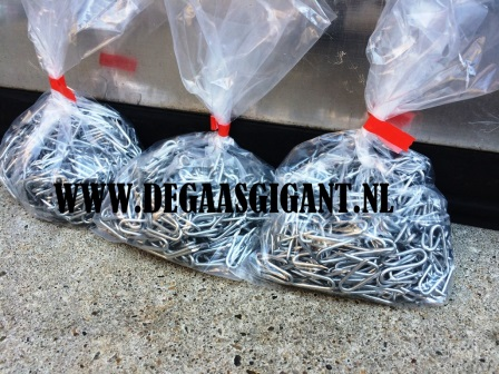 Zakje krammen verzinkt 2,0 x 20 mm. | De Gaasgigant krammen