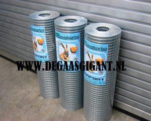 Cavatorta Volieregaas/Nertsengaas 100 cm hoog kopen? Esafort gaas per rol en per meter. Maaswijdte 25