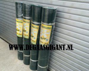 Cavatorta Volieregaas groen geplastificeerd 150 cm hoog kopen? Esaplax gaas. Maaswijdte 12