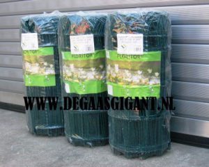 Groen geplastificeerd boogjesgaas voor uw tuin. Boogjesgaas is de meest traditionele en eenvoudige omheining voor uw tuin. Boogjesgaas 65 cm te koop in Opheusden bij De Gaasgigant tegen scherpe prijzen.