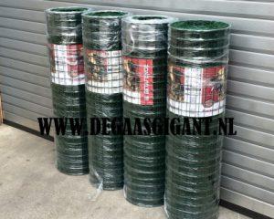 Pantanet protect is fijn tuingaas groen geplastificeerd van Betafence. Hoogte 122 cm. Maaswijdte 50 x 50 mm. Lengte 25 meter. Prijs per rol van 25 m.