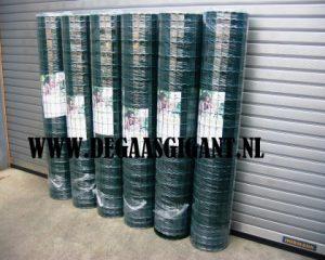 Zwaar tuingaas groen geplastificeerd 180 cm kopen? Draaddikte 2
